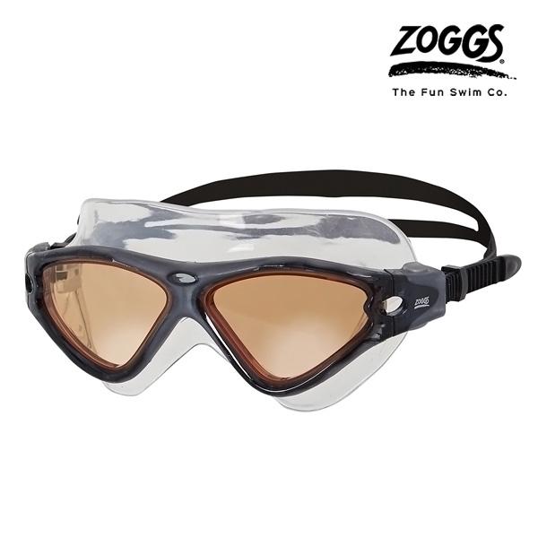ZOGGS 트라이 비젼 마스크 (BLACK-BLACK)