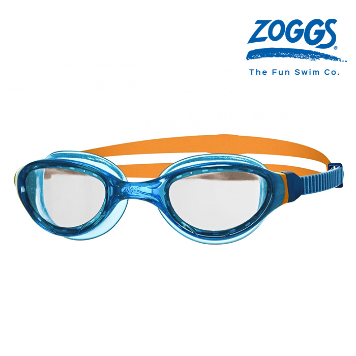 ZOGGS 팬텀 2-0 주니어-BLUE-ORANGE-CLEAR 수경