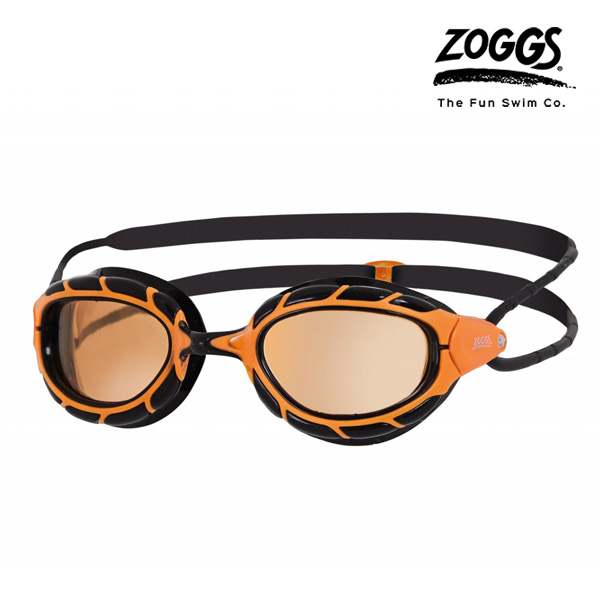 ZOGGS 프레데터 폴라이즈드 수경(ORANGE-BLACK)