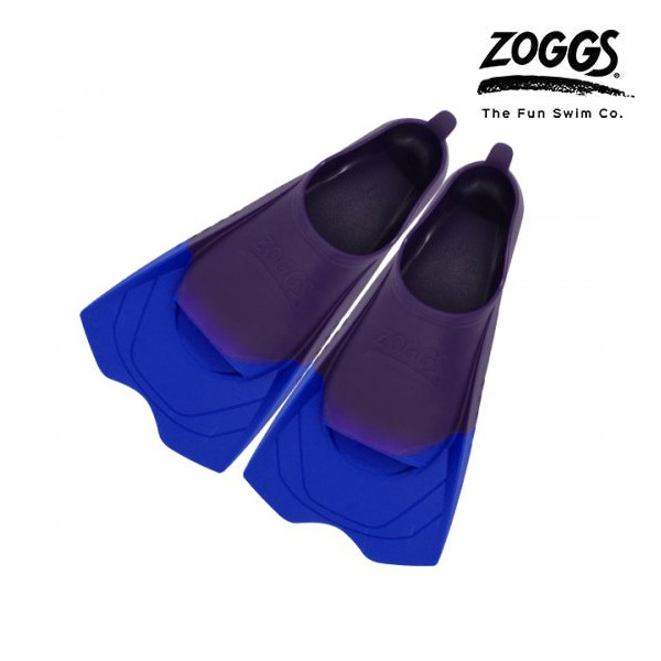 ZOGGS 울트라 블루 핀즈-PPL(190-200) 조그스 숏핀 오리발