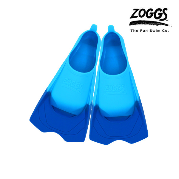 ZOGGS 울트라 블루 핀즈-BLU(220-225) 조그스 숏핀 오리발