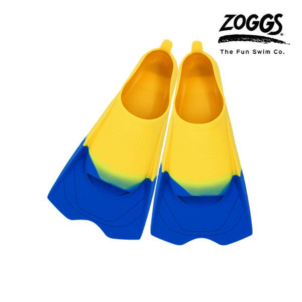 ZOGGS 울트라 블루 핀즈-YEL(230-235) 조그스 숏핀 오리발