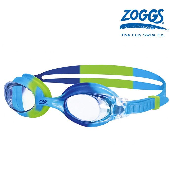 ZOGGS 리틀 본다이 키즈-CLEAR-L-BLUE-GREEN 수경