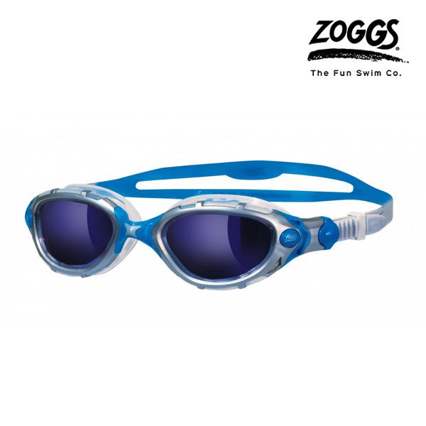 ZOGGS 프레데터 플렉스 미러수경 (SILVER-BLUE)