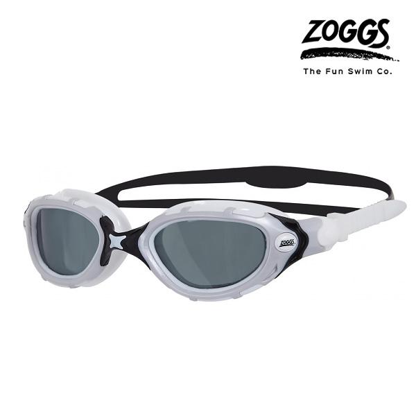 ZOGGS 프레데터 플렉스 스모크 폴라이즈드 수경(WHITE-BLACK)
