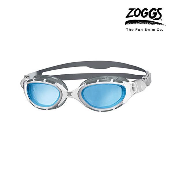 ZOGGS 프레데터 플렉스-SILVER-WHITE 수경