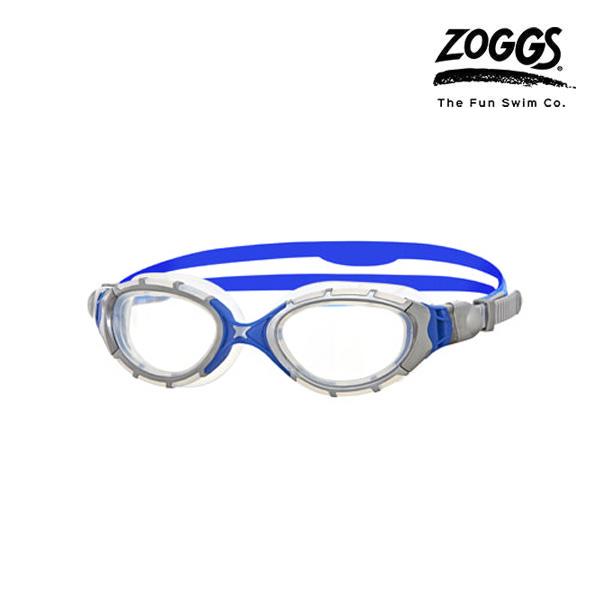 ZOGGS 프레데터 플렉스-SILVER-BLUE 수경