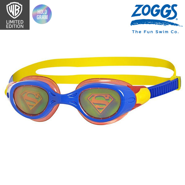 ZOGGS 슈퍼맨 홀로그램 수경 (저스티스리그)