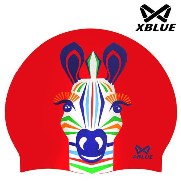 7201얼룩말(RED) XBLUE 엑스블루 실리콘 수모