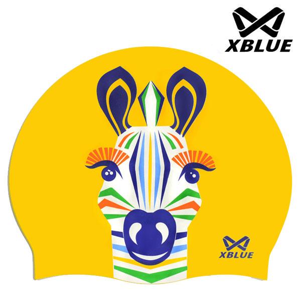 7201얼룩말(YEL) XBLUE 엑스블루 실리콘 수모