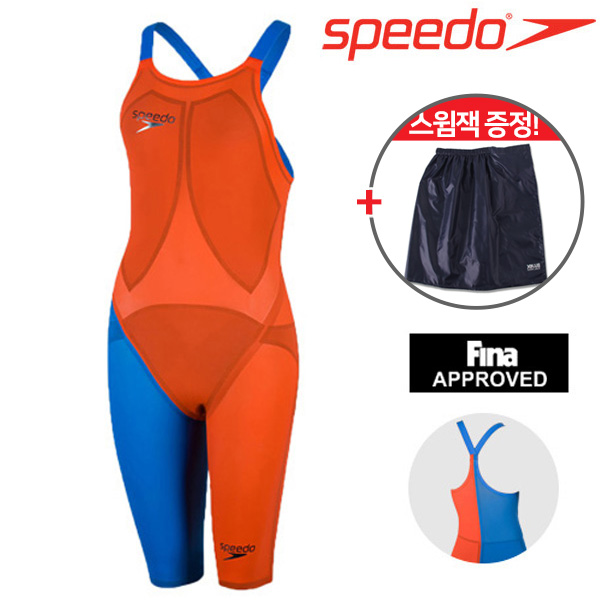 8-09171C565 스피도 SPEEDO 경기용 반전신 여성용 수영복