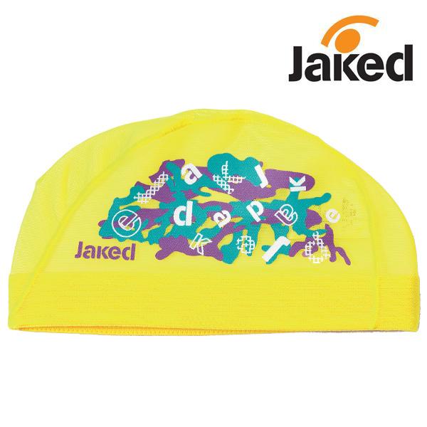 830159-YEL 제이키드 메쉬수모 매쉬캡 수영모자
