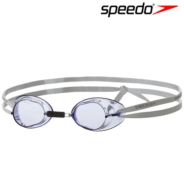 스피도 SPEEDO 스웨디시 수경 8-706060014 White-Blue