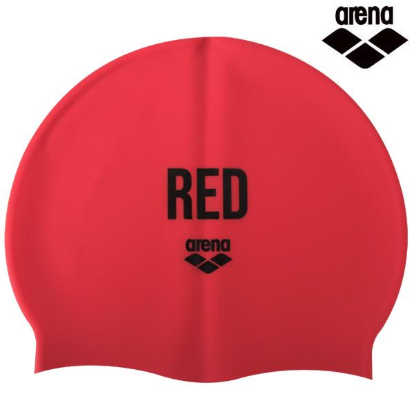 A1AC1AC01 컬러링-RED 아레나 실리콘 수모 수영모