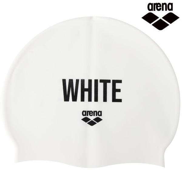 A1AC1AC01 컬러링-WHT 아레나 실리콘 수모 수영모
