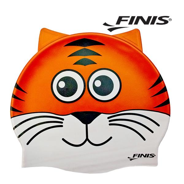 피니스 동물 실리콘 아동 수모 (호랑이)