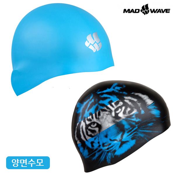 ANIMALS reversible (BLUE) MAD WAVE 실리콘 양면 수모