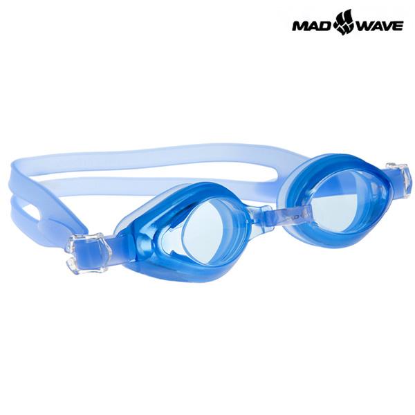 AQUA(BLUE) MAD WAVE 패킹 노미러 수경 주니어