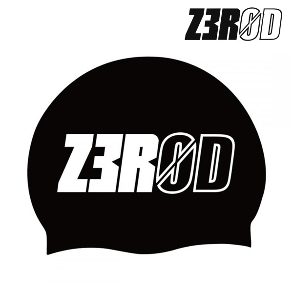 제로드 아르마다 블랙 실리콘 스윔 캡 ZEROD ARMADA BLACK SWIM CAP