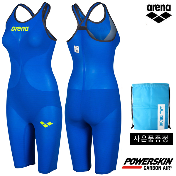 AVFIL91-BLU POWERSKIN CARBON AIR2 CLOSE BACK 아레나 ARENA 반전신 선수용 수영복