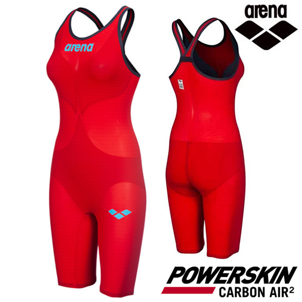 AVFIL91-RED POWERSKIN CARBON AIR2 CLOSE BACK (00112945) 아레나 ARENA 반전신 경기용 수영복