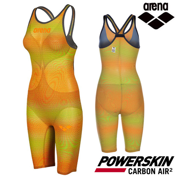 AVFIL91-YEL POWERSKIN CARBON AIR2 CLOSE BACK 아레나 ARENA 반전신 선수용 수영복