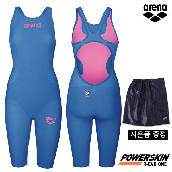 AVFIL94-BLUE POWERSKIN R-EVO ONE OPEN BACK (001438143) 아레나 ARENA 반전신 경기용 수영복
