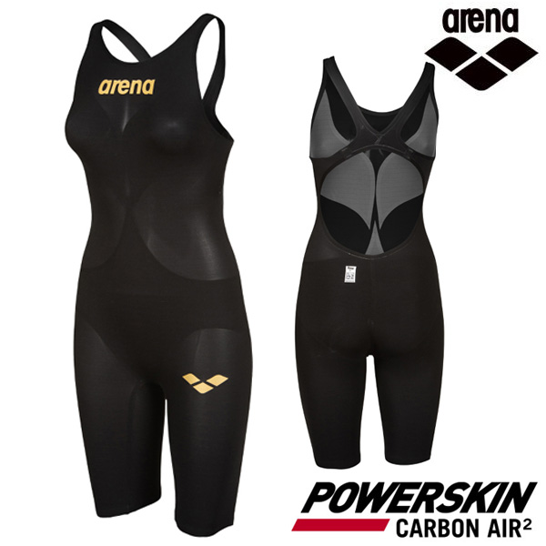 AVFIL99-BLK POWERSKIN CARBON AIR2 OPEN BACK FAR-9504W(00112855) 아레나 ARENA 반전신 선수용 수영복