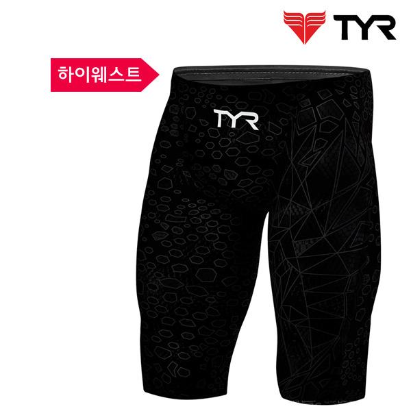 AVMH6A 022 (BLACK-BLACK) TYR 티어 경기용 5부 수영복
