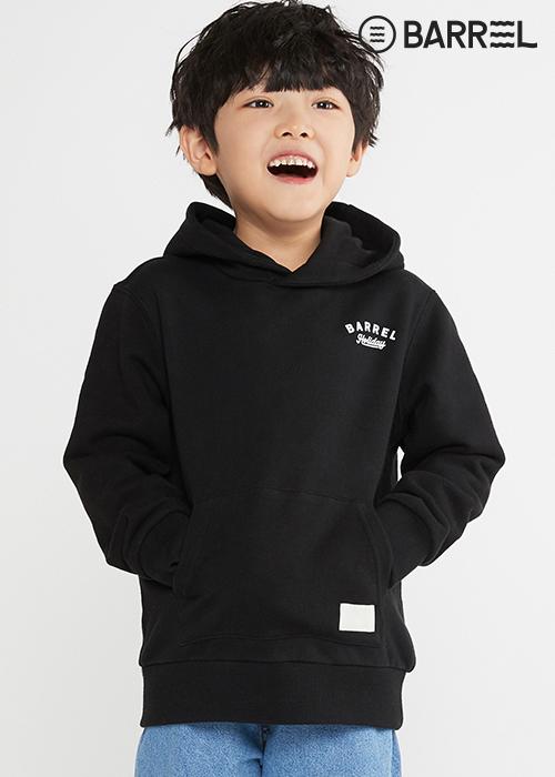 배럴 키즈 서퍼스 클럽 후디-블랙