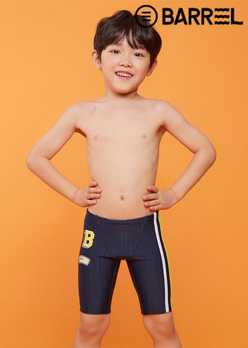 배럴 키즈 트레이닝 와펜 재머 스윔슈트-딥네이비 3부 수영복