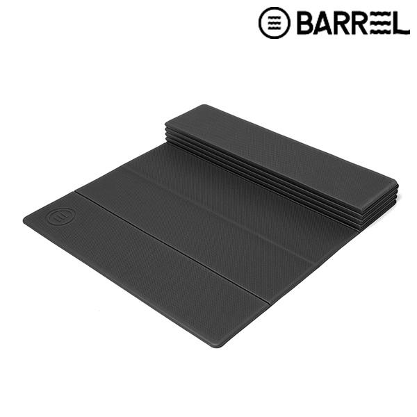 배럴 폴더블 6MM 리커버리 매트-블랙 훈련용품