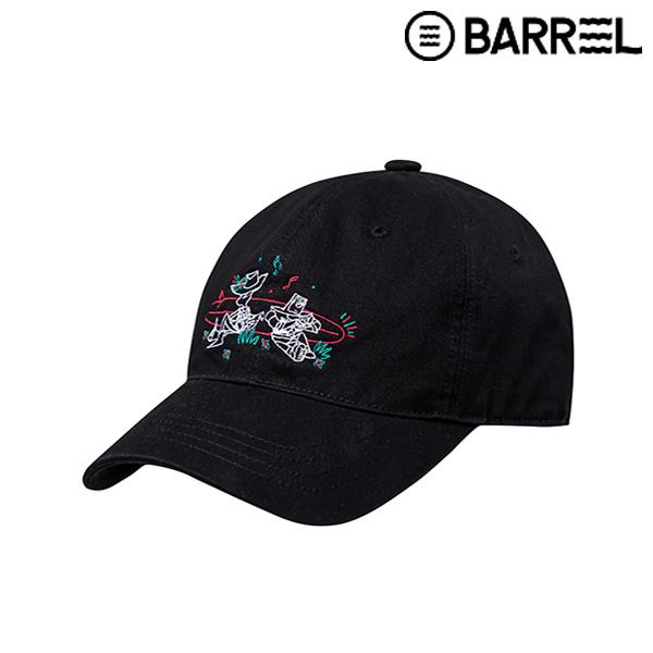 배럴X토이스토리 그래픽 볼캡-블랙