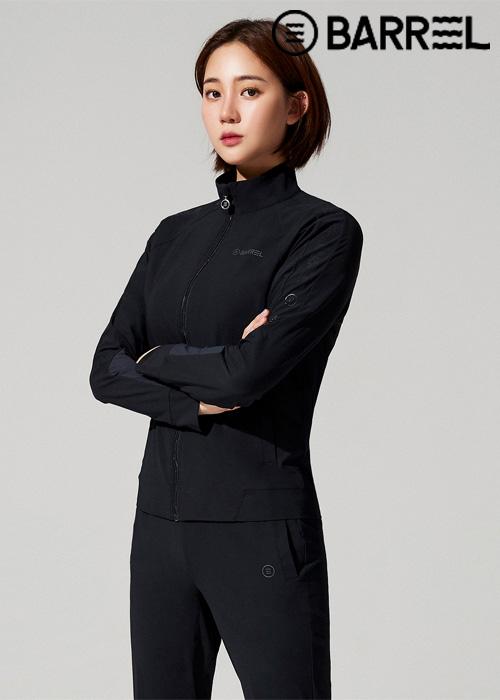 배럴 우먼 인스파이어드 트레이닝 탑-블랙