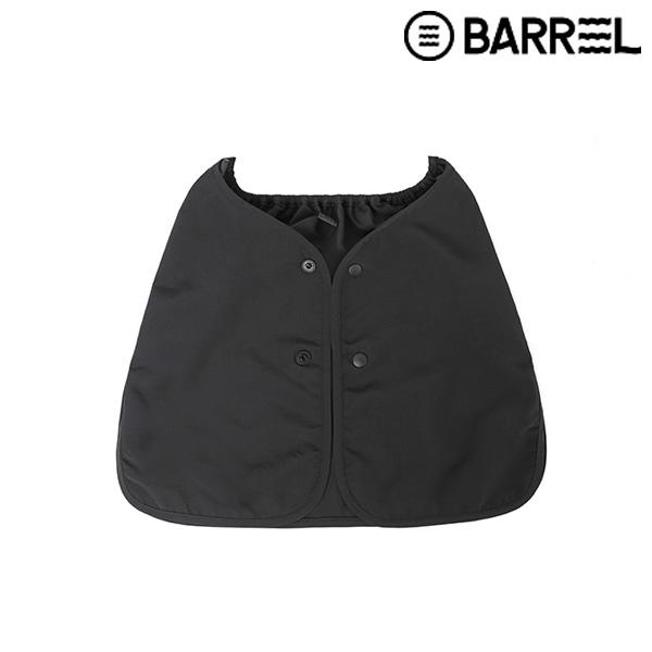 배럴 후크 넥 선쉐이드-블랙