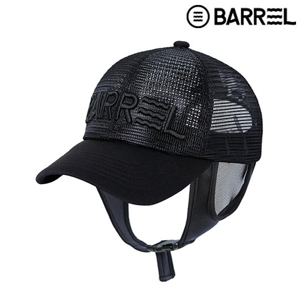 배럴 서프 메쉬캡-블랙