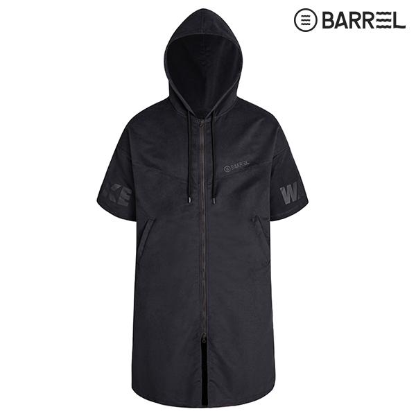 배럴 프로 판초 타월-블랙 수영용품