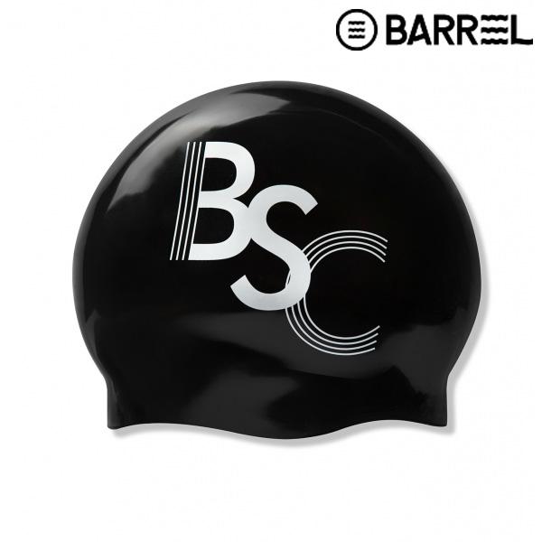 배럴 스윔크루 노링클 스윔 캡-블랙 실리콘 수모