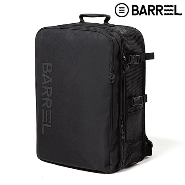 배럴 트래블 메쉬 백팩 42L-블랙