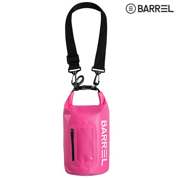배럴 드라이 백 4L-핑크
