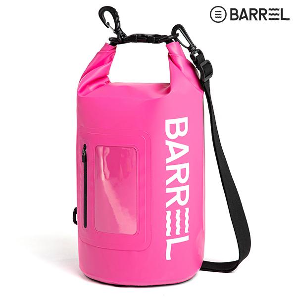 배럴 드라이 백 10L-핑크