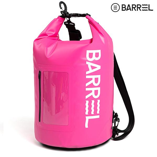 배럴 드라이 백 20L-핑크