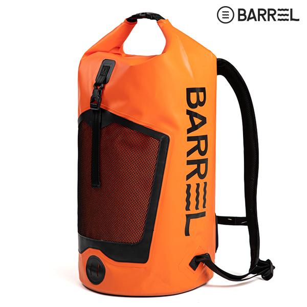 배럴 드라이 백팩 42L-오렌지