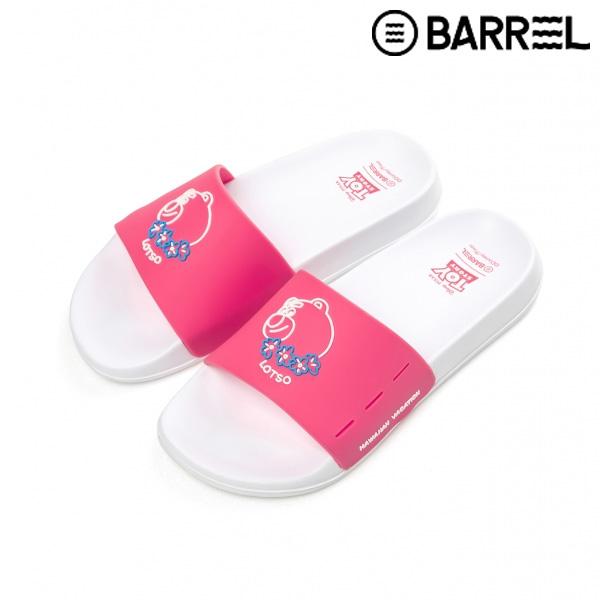 배럴 토이스토리 슬라이드-핑크
