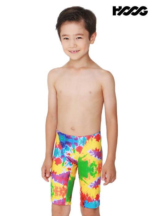 후그 BLA229 5부 남아동용 수영복