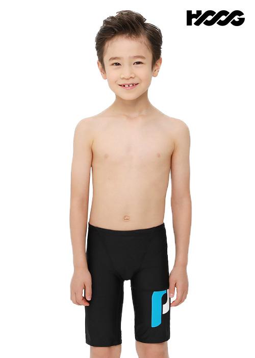 후그 BLA250 5부 남아동용 수영복