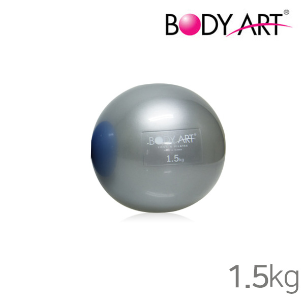 바디아트 소프트 웨이트볼-그레이 3kg(1.5kg x 2)