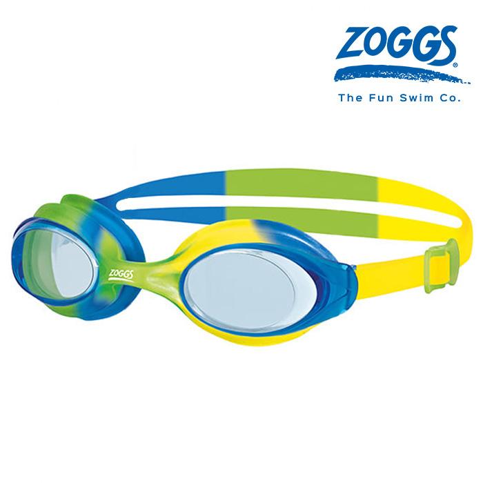 ZOGGS 본다이 주니어 GREEN-BLUE-YELLOW-TINT 조그스 주니어 수경
