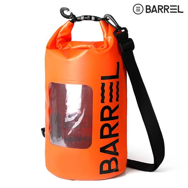 (아울렛)배럴 베이직 드라이 백 10L-오렌지