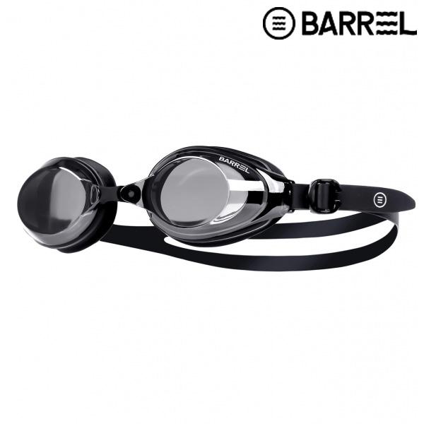 배럴 트레이닝 스윔 고글-블랙 미러/블랙 패킹 수경